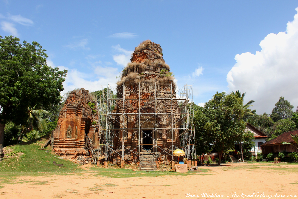 Temple of Lolei in Angkor, Cambodia