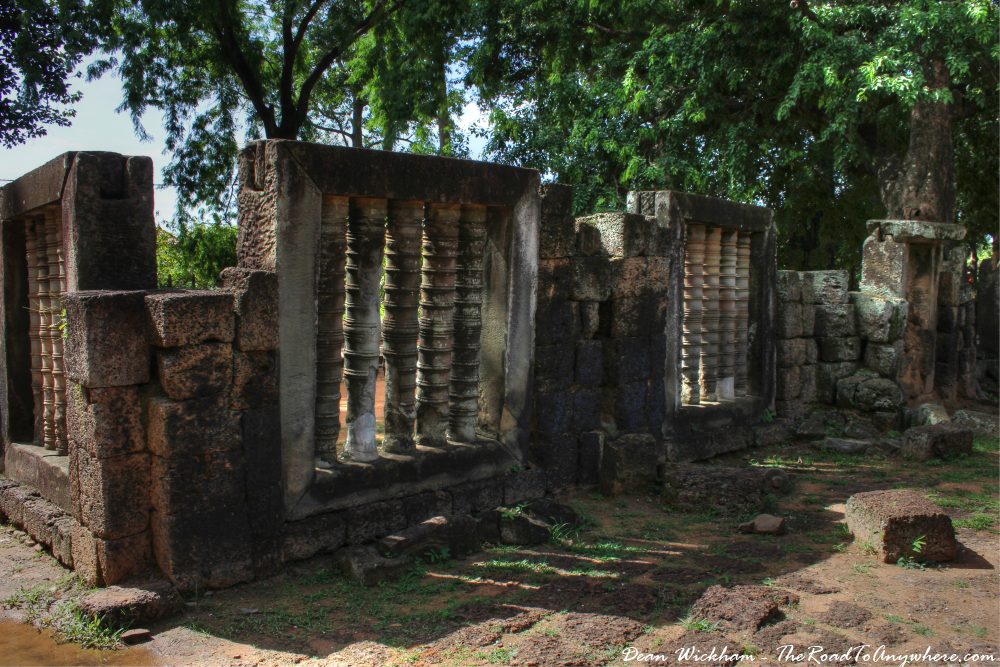 Ruins at Preah Ko in Angkor, Cambodia
