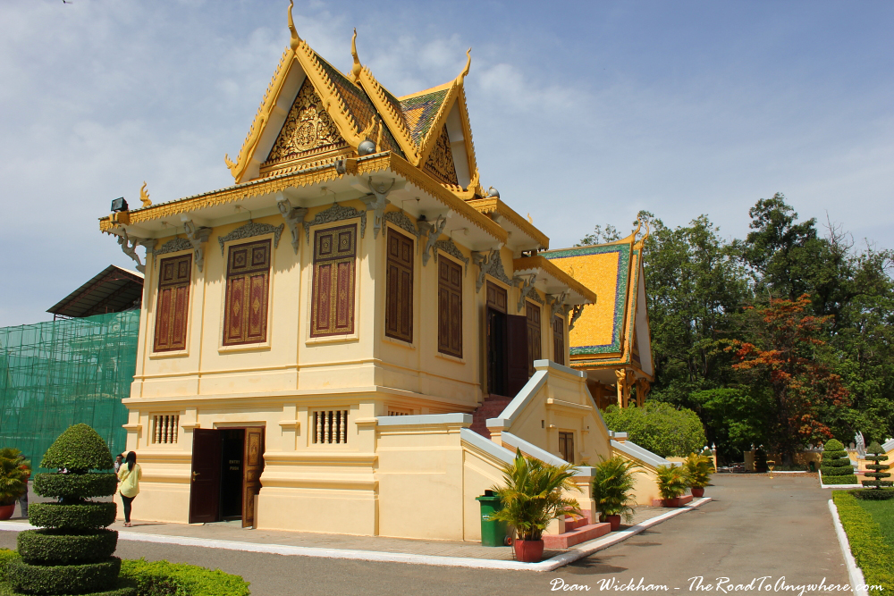 Hor Samrith Phimean in the Royal Palace in Phnom Penh, Cambodia