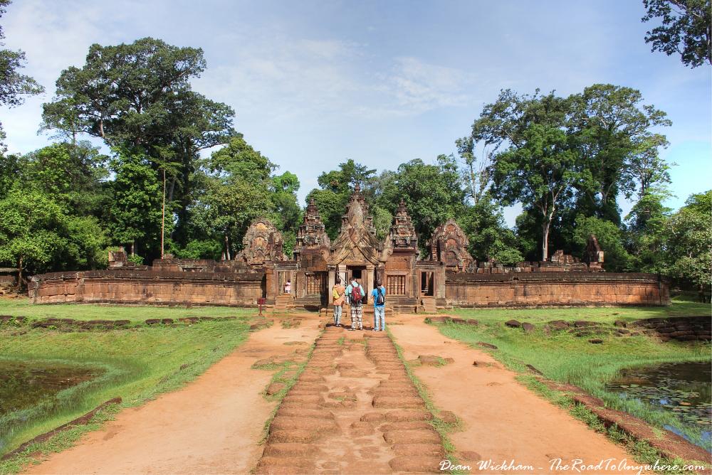 Banteay Srei in Angkor, Cambodia