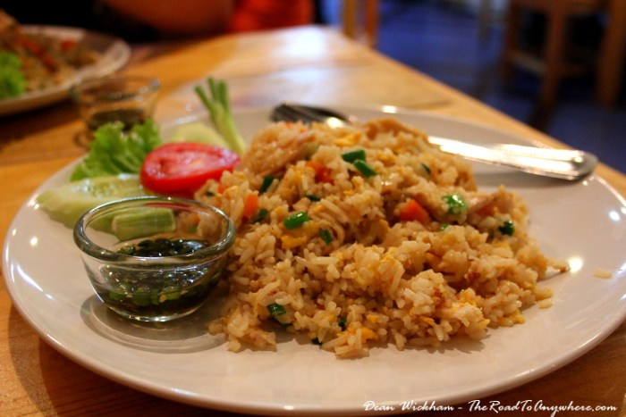 Fried Rice in Chiang Mai, Thailand