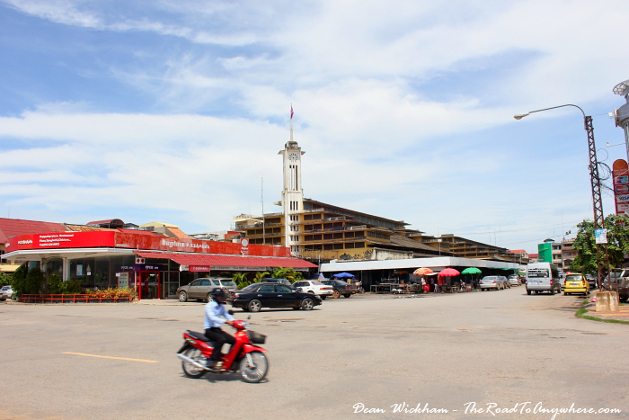 Central Market in Battambang, Cambodia