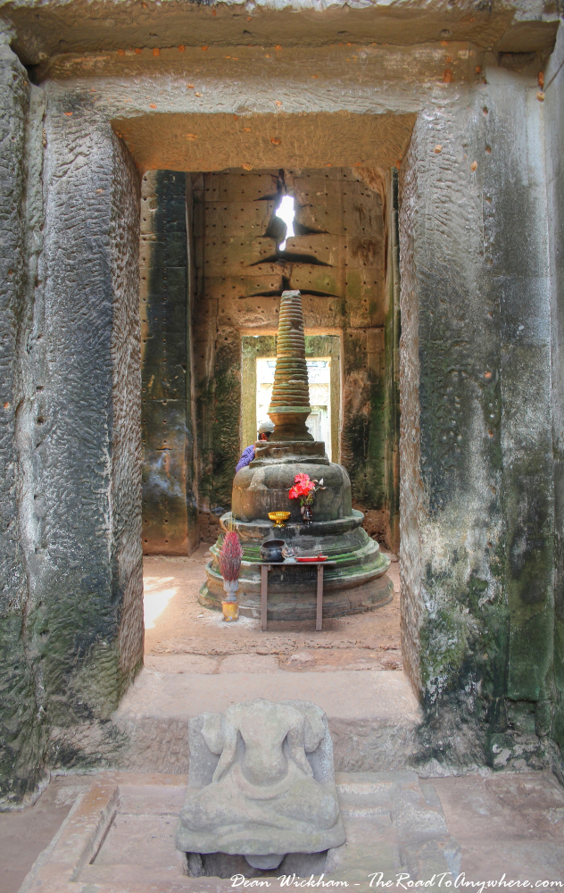 The Central Shrine at Preah Khan in Angkor, Cambodia