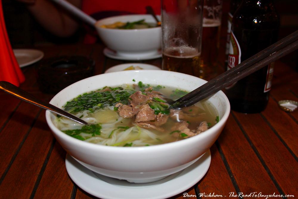 Pho Bo in Hanoi, Vietnam