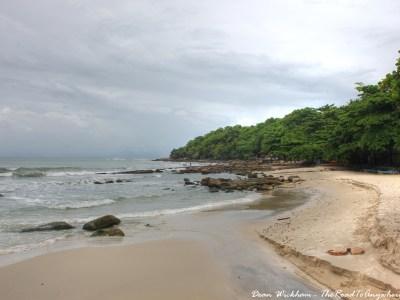 Deserted Beach in Sihanoukville, Cambodia