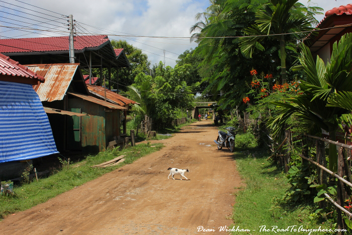 Village on Don Khone, Laos
