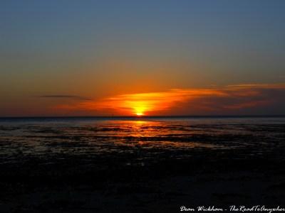 Sunset in Parham, South Australia