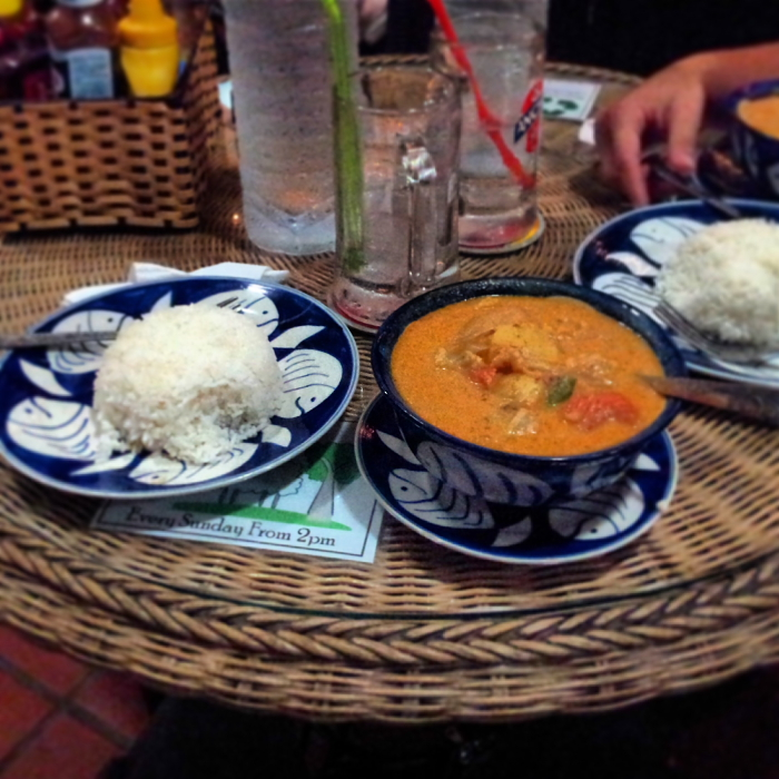 Khmer Curry in Phnom Penh, Cambodia