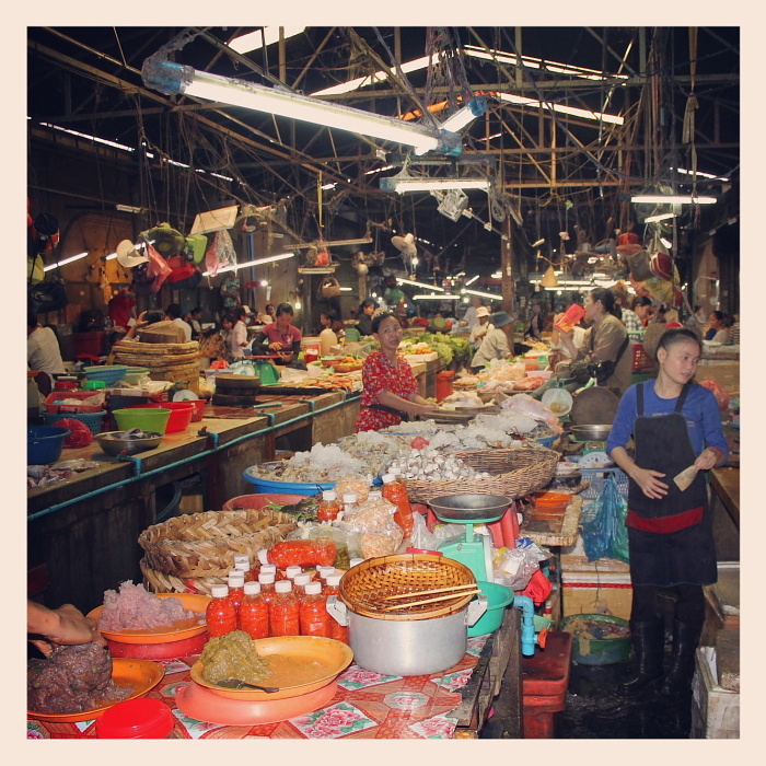Market in Siem Reap, Cambodia