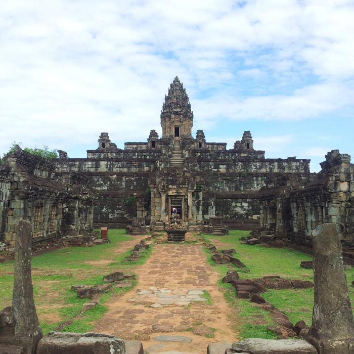 Bakong temple in Angkor, Cambodia