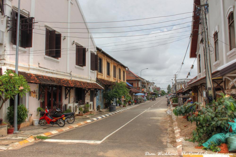 Street in Savannakhet, Laos