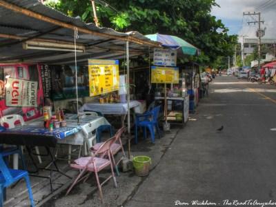 Roadside restaurant in Chiang Mai, Thailand