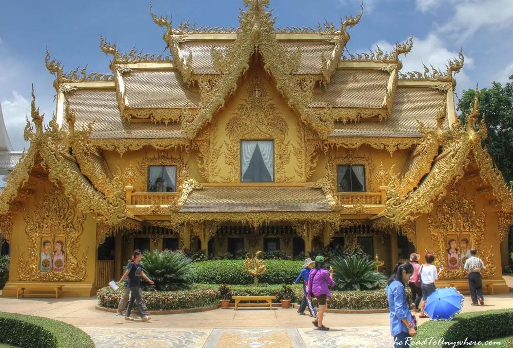 Golden Toilet at Wat Rong Khun, Thailand