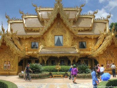 Golden Toilet at Wat Rong Khun, Thailand