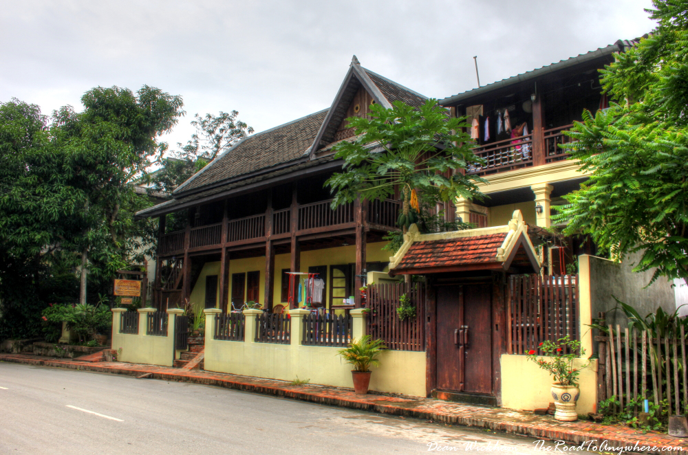 Beautiful old house in Luang Prabang, Laos