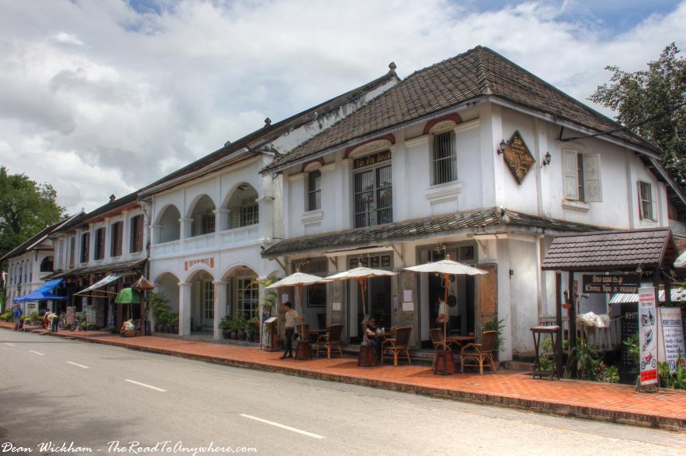 A cafe in Luang Prabang, Laos