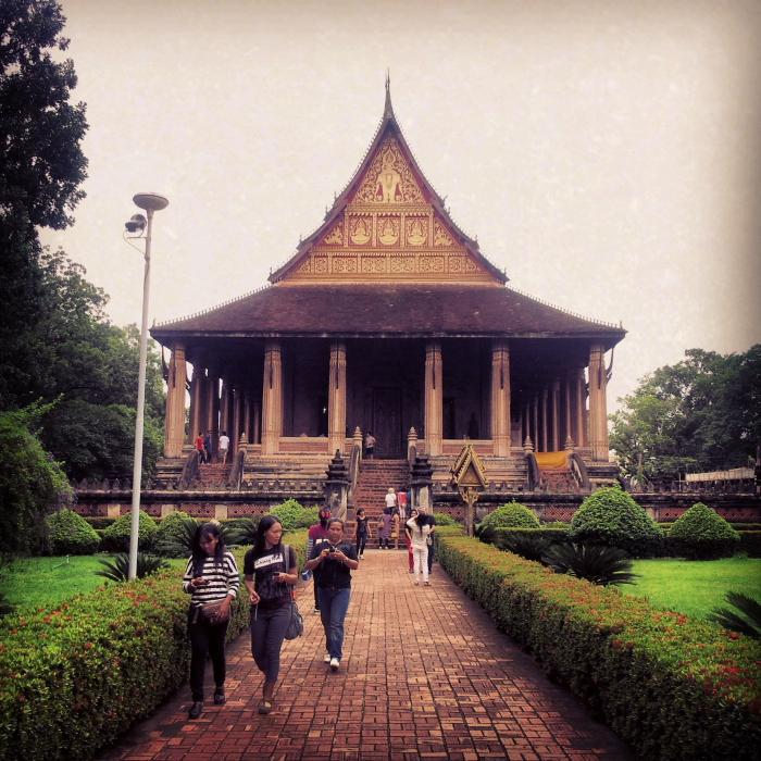 Ho Phra Keo temple in Vientiane, Laos