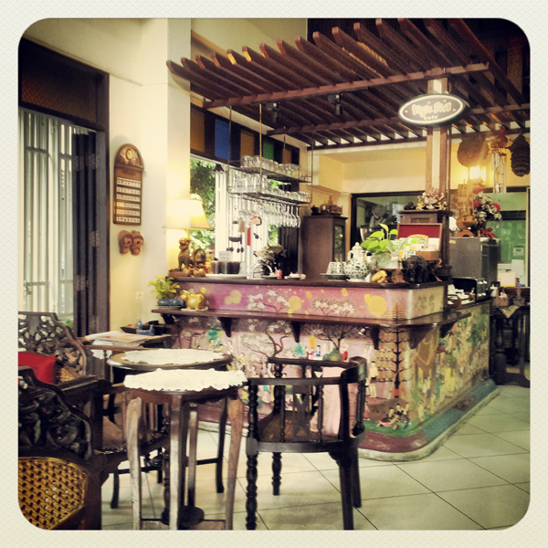 Cafe in Chiang Mai, Thailand