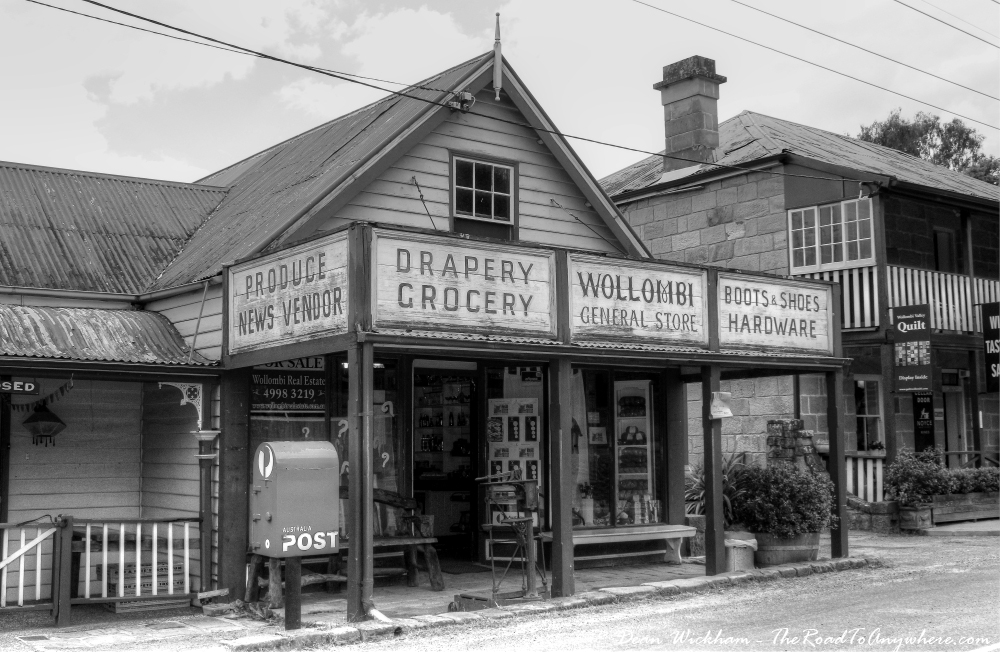 Old General Store in Wollombi, Australia