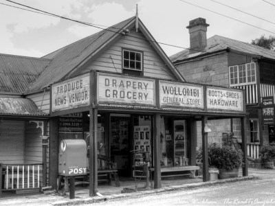 Old General Store in Wollombi, Australia