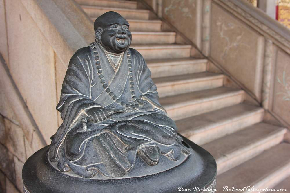 Buddha statue at Khoo Kongsi Clanhouse in George Town, Penang, Malaysia