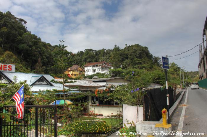 Mountain views in Tanah Rata, Cameron Highlands, Malaysia