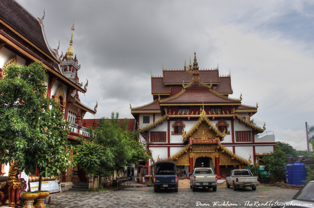 Monastery at Wat Monthian in Chiang Mai, Thailand