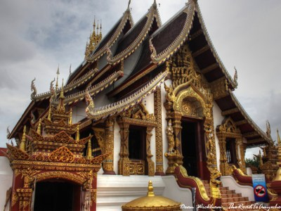 Wat Monthian in Chiang Mai, Thailand