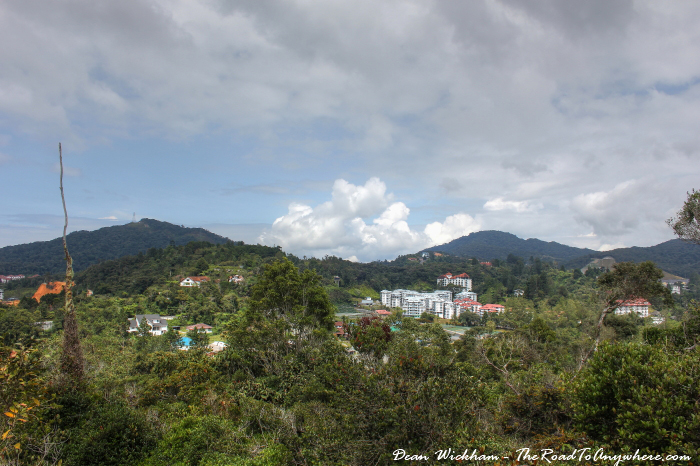 View of Tanah Rata in the Cameron Highlands, Malaysia