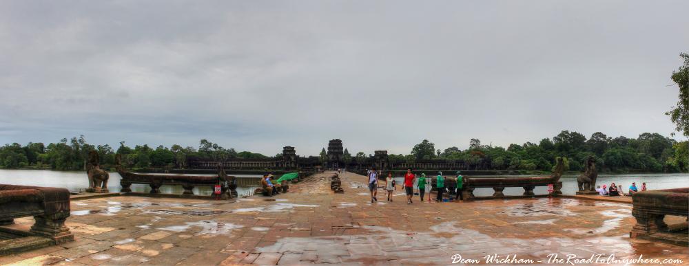 Entrance to Angkor Wat, Cambodia