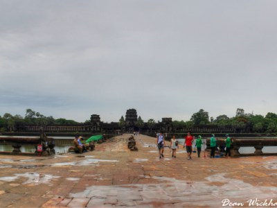 Entrance to Angkor Wat, Cambodia