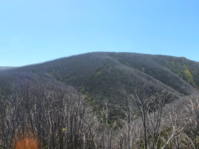 Mountain panorama in Falls Creek, Australia