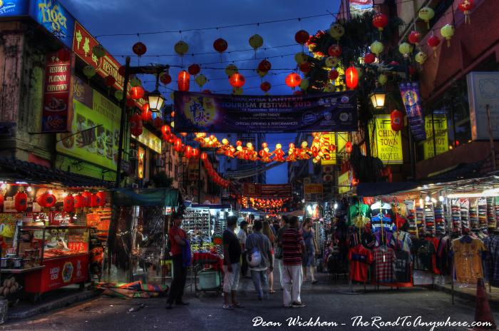 Petaling Street Market in Chinatown, Kuala Lumpur