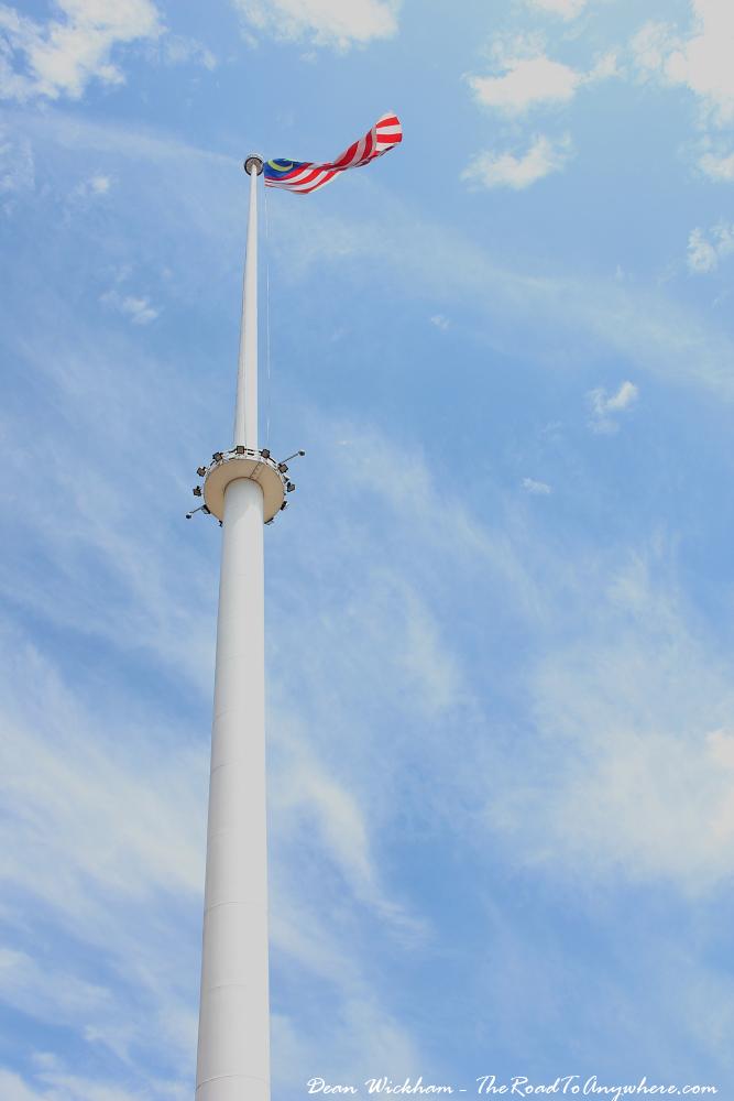 Malaysian Flag at Merdeka Square in Kuala Lumpur, Malaysia