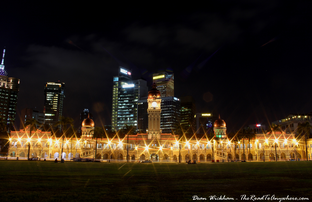 Merdeka Square in Kuala Lumpur, Malaysia