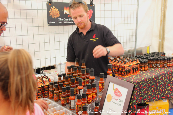 Hottest chilli at the Fremantle Chilli Festival in Fremantle, Western Australia