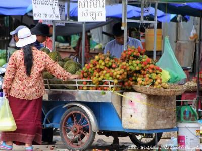 Fruit Cart in Battambang, Cambodia