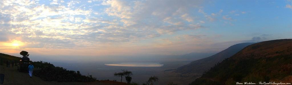 Morning view of Ngorongoro Crater, Tanzania