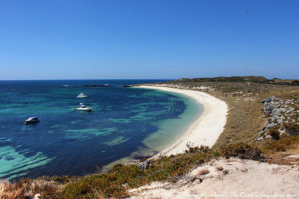 Catherine Bay on Rottnest Island, Western Australia