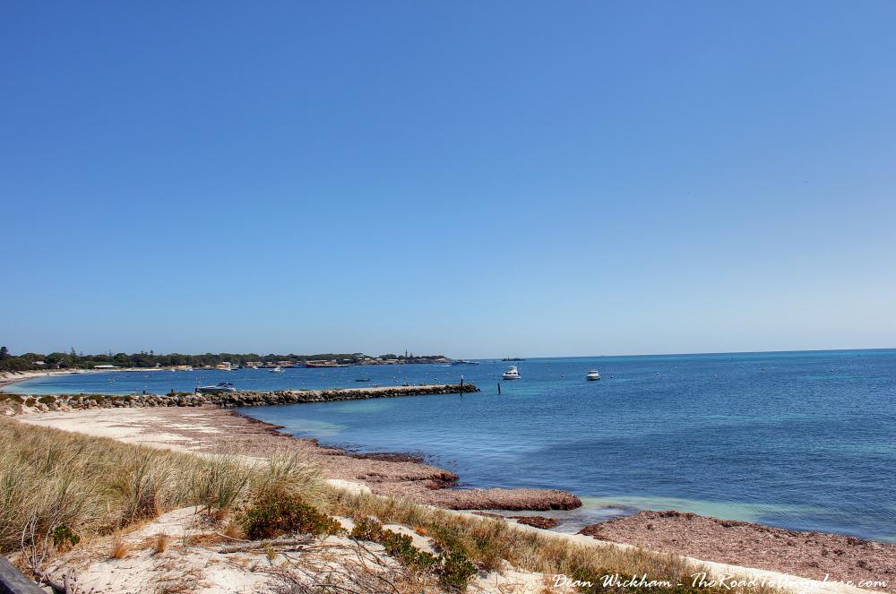 Thompson Bay on Rottnest Island, Western Australia