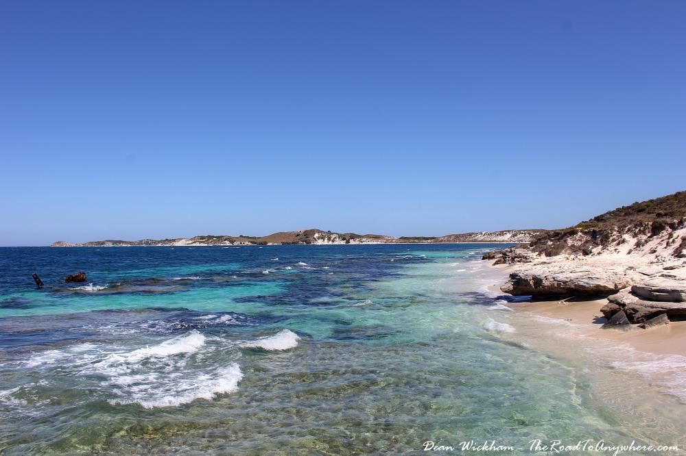 Reef and wreck at Henrietta Rocks on Rottnest Island, Western Australia