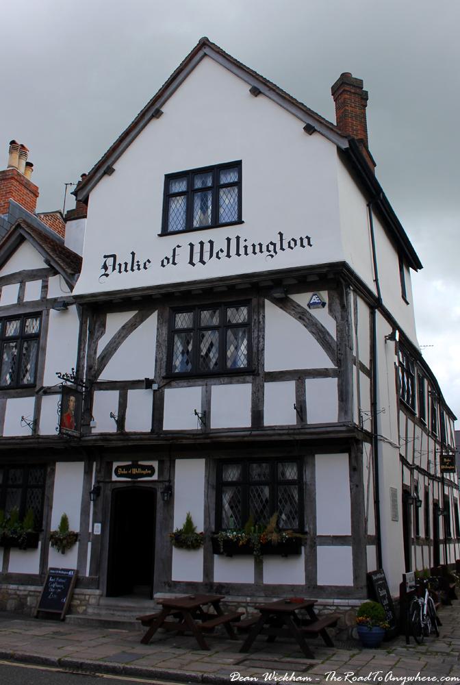 The Duke of Wellington pub in Southampton, England