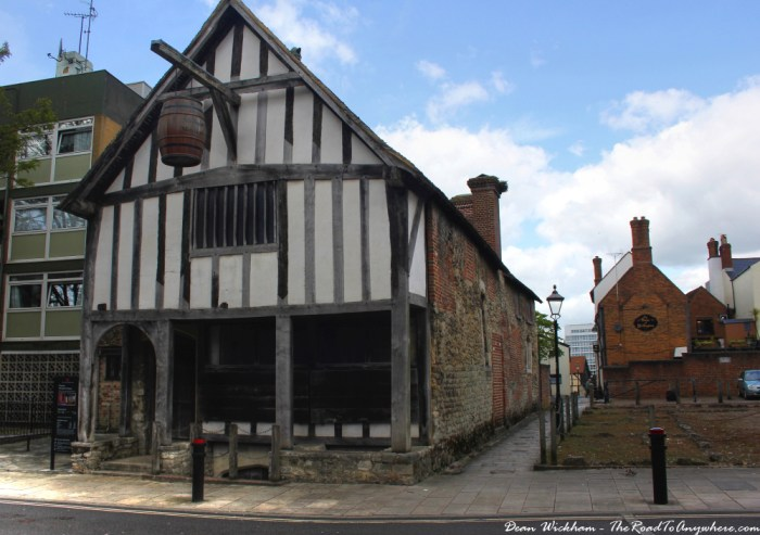Old Merchant's house in Southampton, England