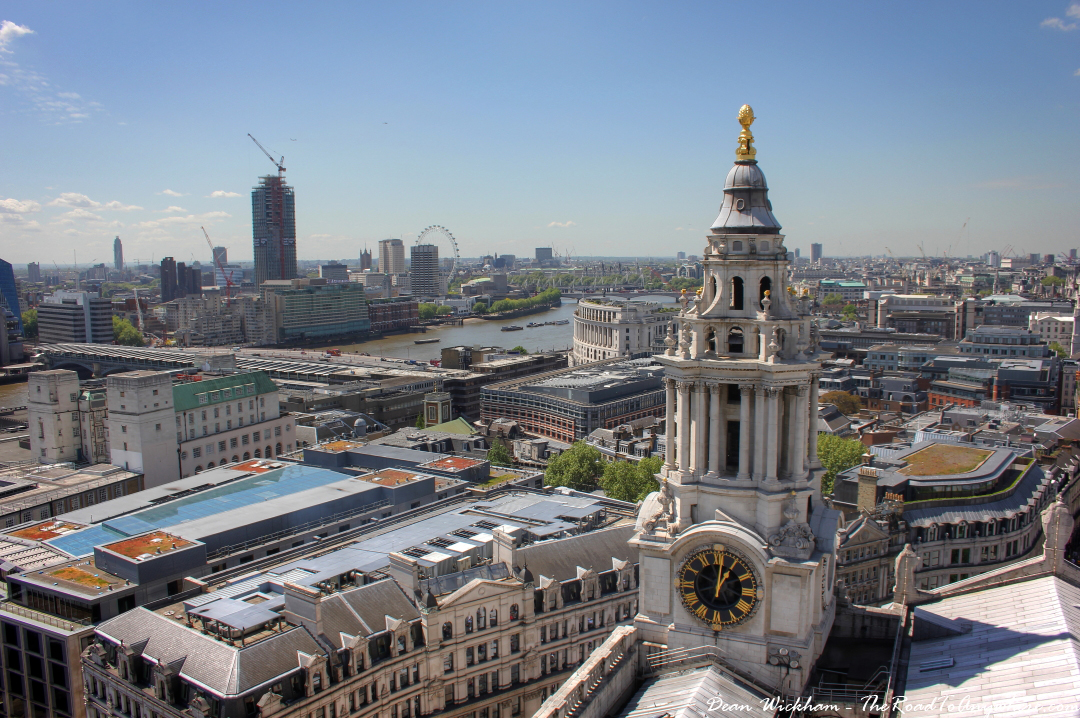 Climbing to the top of St Paul's Cathedral in London | The ...
