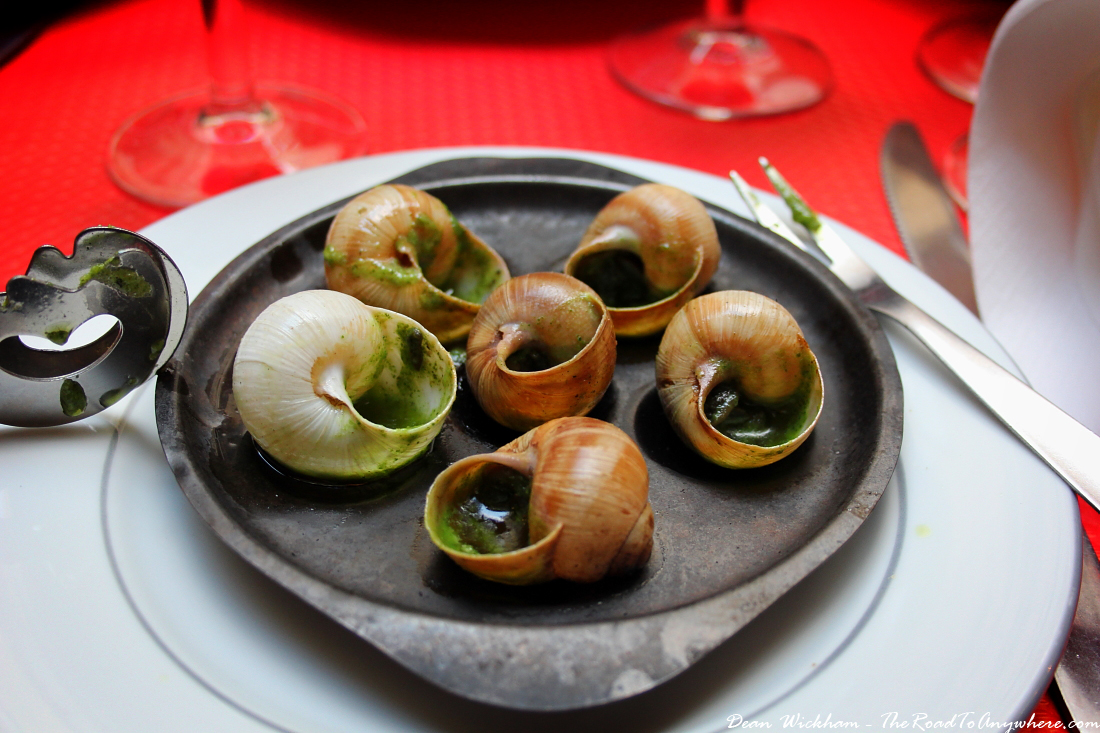 How to eat snails