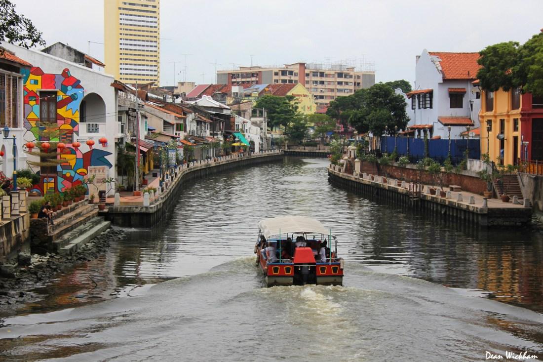 River Boat in Melacca, Malaysia