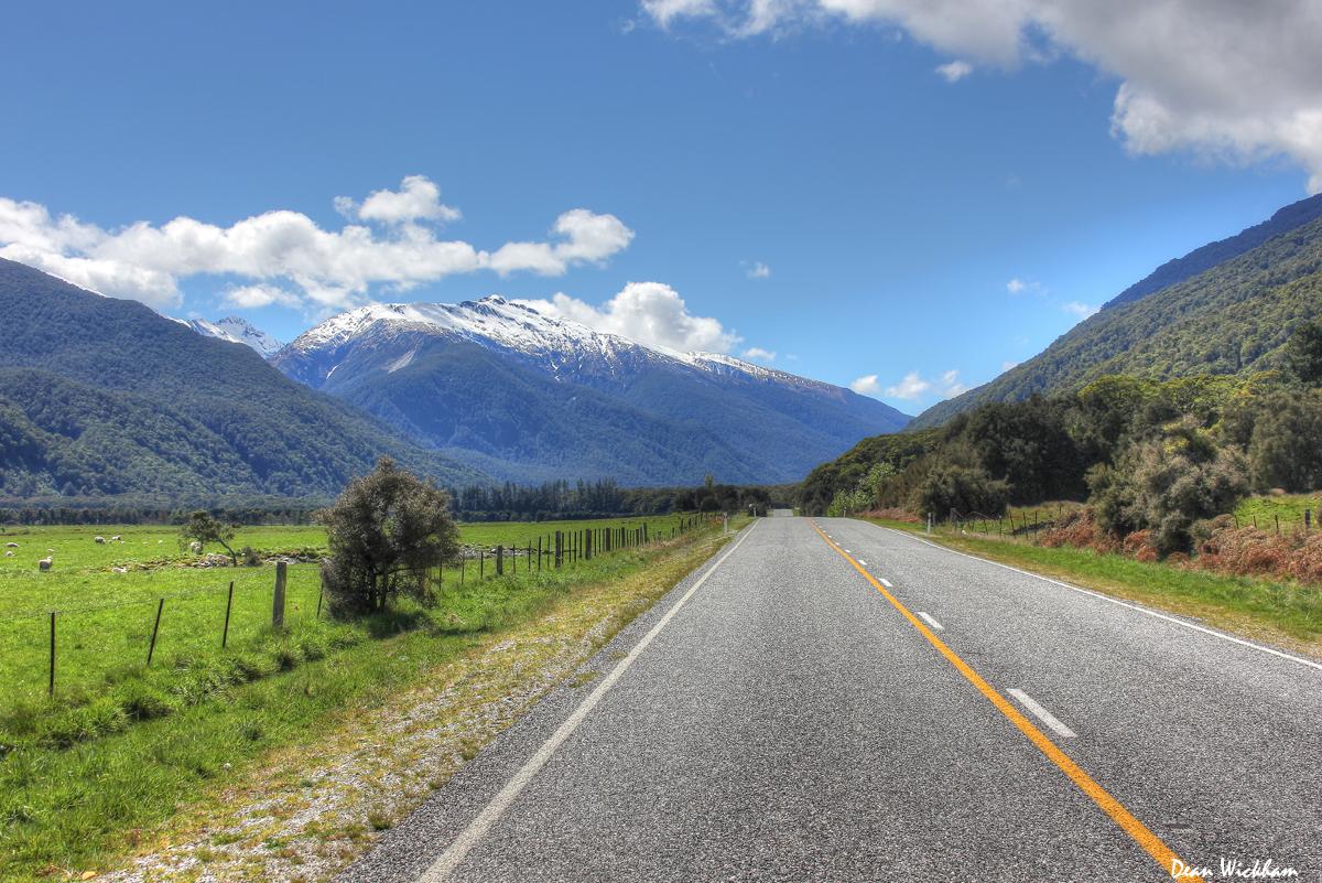 Makarora Road, New Zealand
