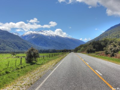 Makarora Road, New Zealand
