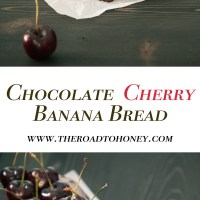 Chocolate Cherry Banana Bread + Tales From Mount Kenya Safari Club