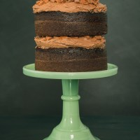 Chocolate Tim Tam Cake With Mexican Chocolate Frosting